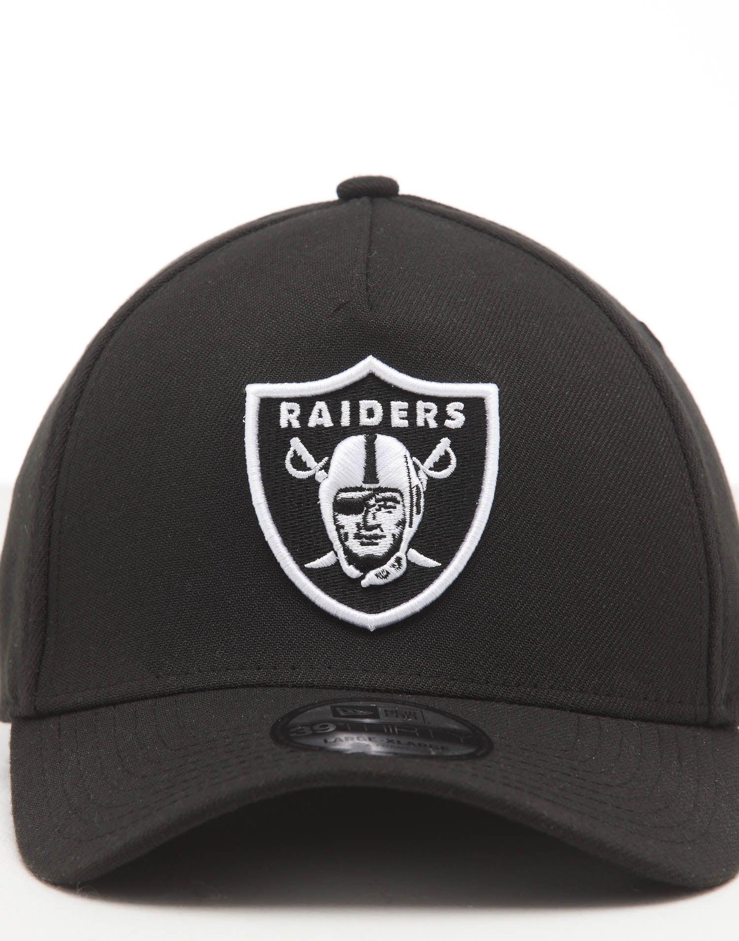 New Era NFL Oakland Raiders Patch Child Black A-Frame Trucker