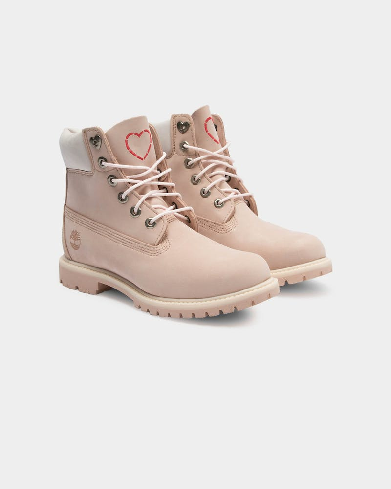 Women's Love Collection 6Inch Premium Boot Light Pink