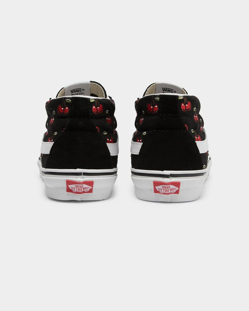 Vans Men's SK8-Mid Cherries Black/White/Red