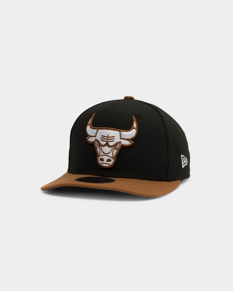 New Era Chicago Bulls 9FIFTY Toasted Original Fit Precurved NBA Snapback Black
