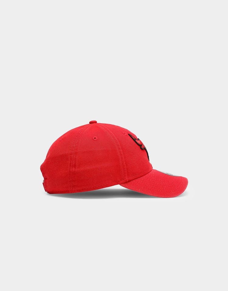 Chicago Bulls Canvas 9FORTY NBA Strapback