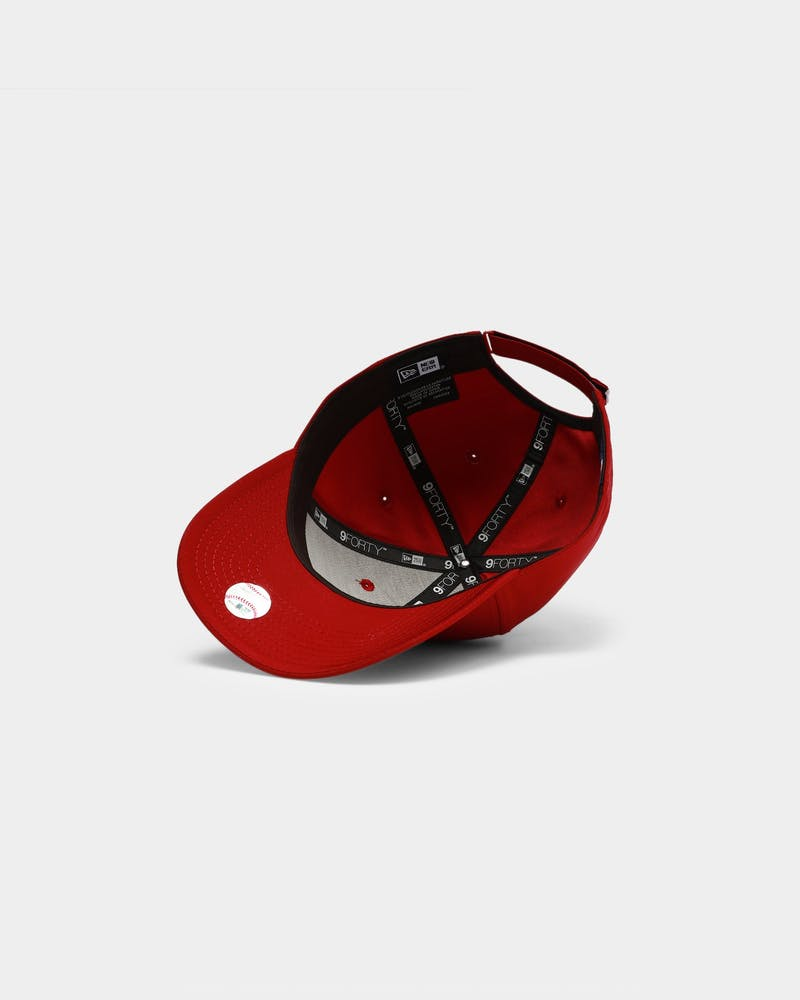 New Era Boston Red Sox Cardinal Pro 9FORTY Strapback Cardinal