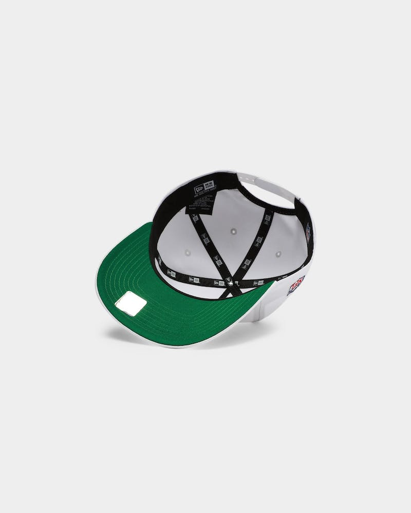 New Era Raiders Script Old Golfer Snapback White