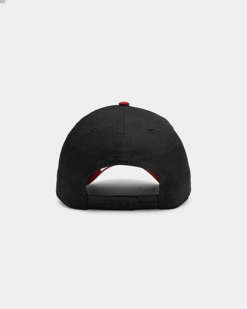 New Era Miami Heat OTC 9FORTY A-Frame Snapback Black/Pinot Red