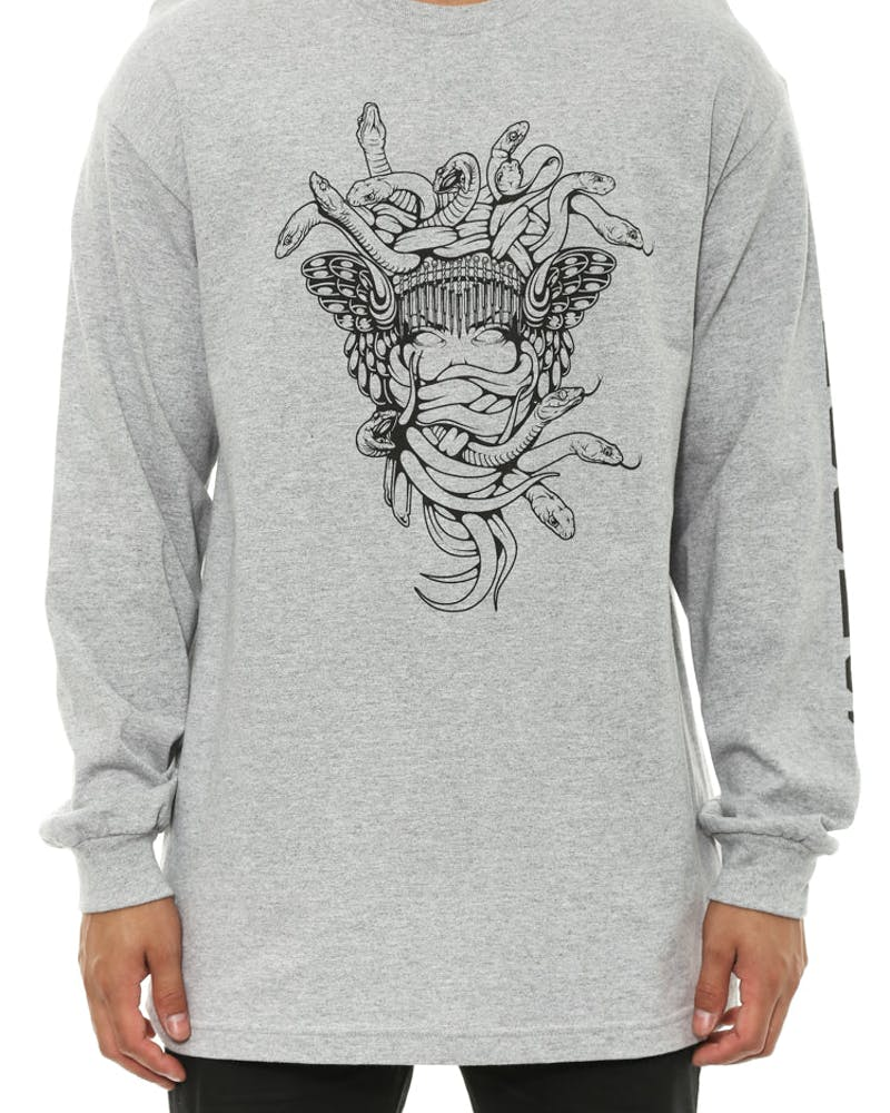 Royal Panther Long Sleeve Grey