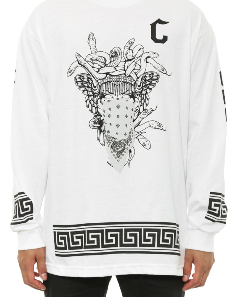 Crooks Standard Long Sleeve White
