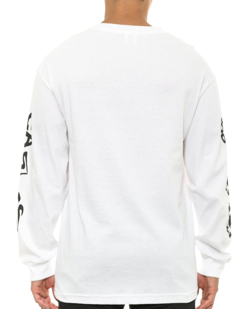 Twisted Long Sleeve White