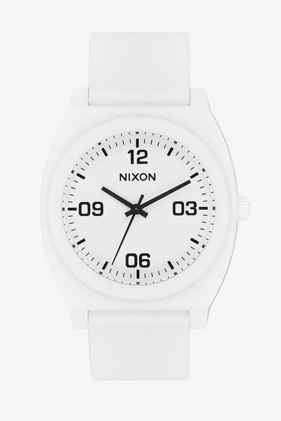 Nixon Time Teller P Corp White/Black