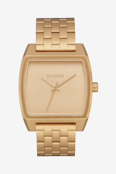 Nixon Time Tracker Gold