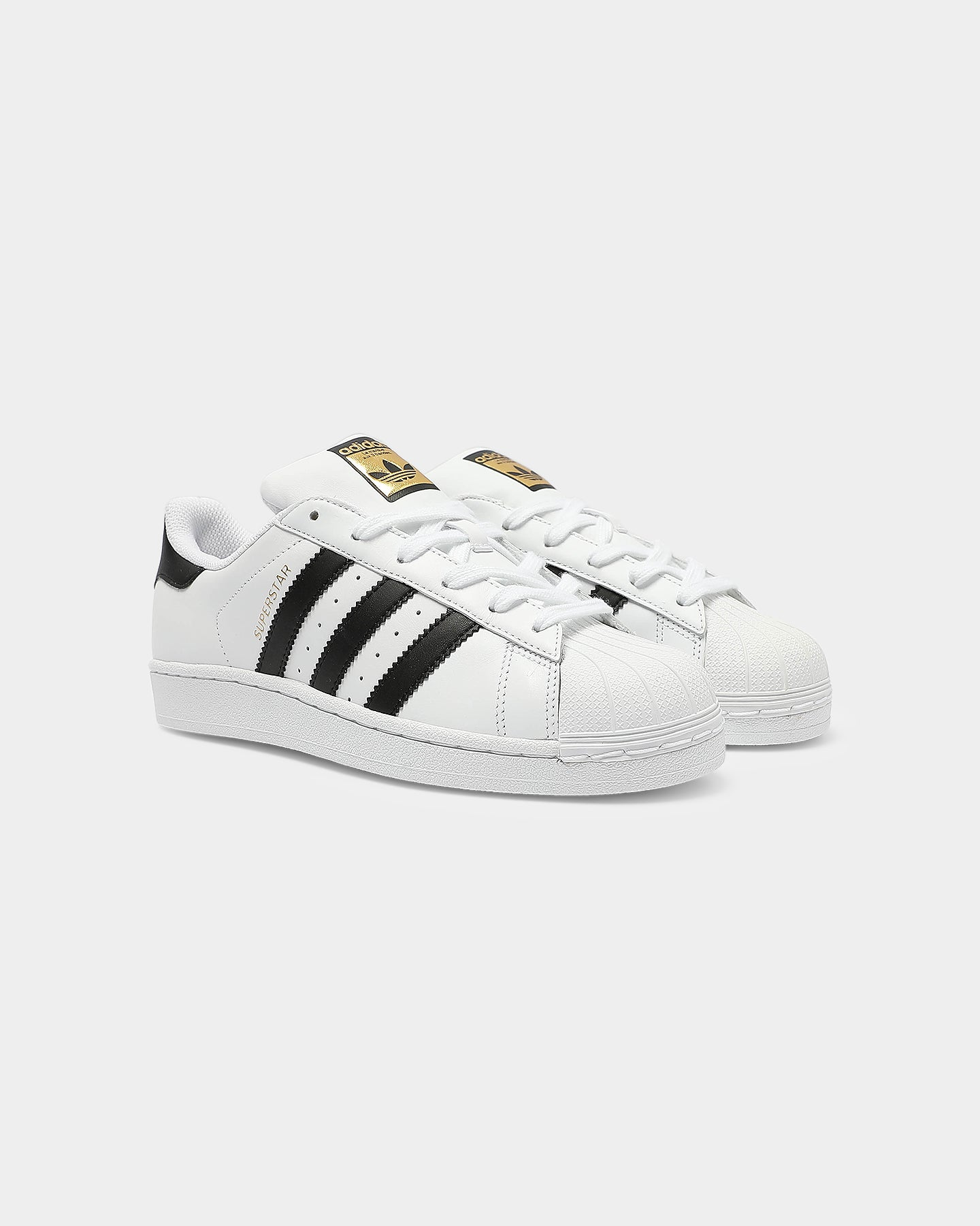 Adidas Superstar Camo Black White Youth Low Top Trainers