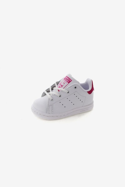 Adidas Stan Smith Infant White/Pink