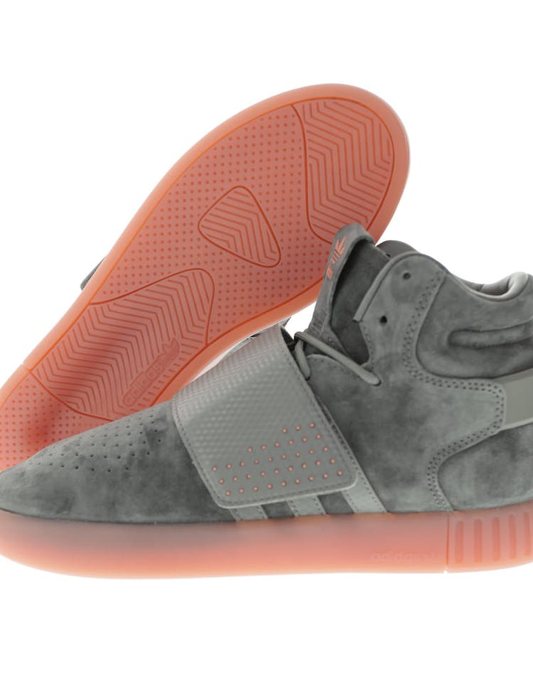 cheap for discount 0a464 9d004 Adidas Originals Tubular Invader Strap Grey/Pink