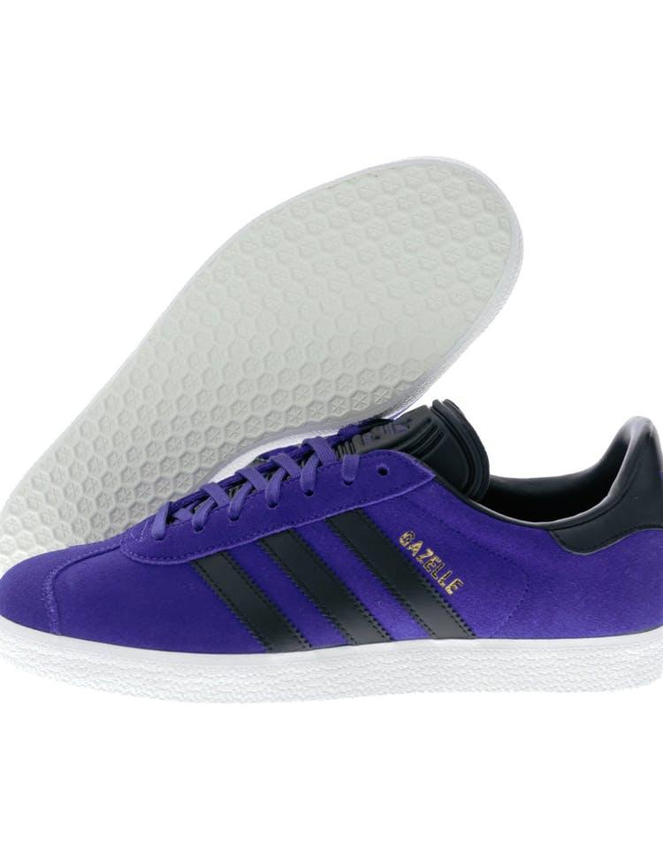 ba5b3c24f4 Adidas Originals Gazelle Purple/Black/White