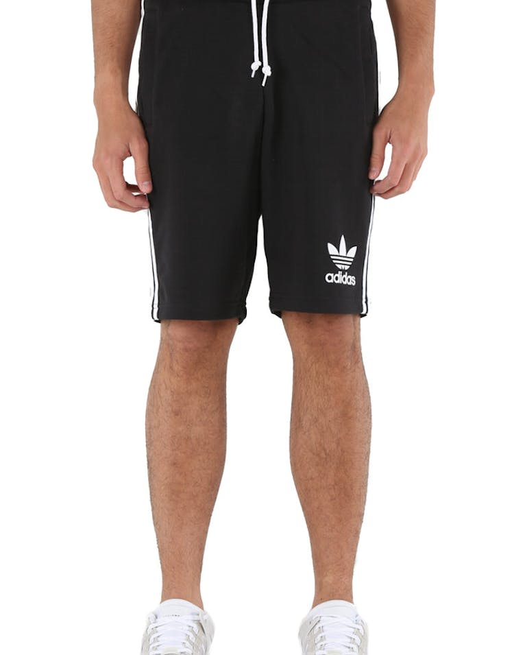 Adidas Originals 3-Stripes French Terry Shorts Black