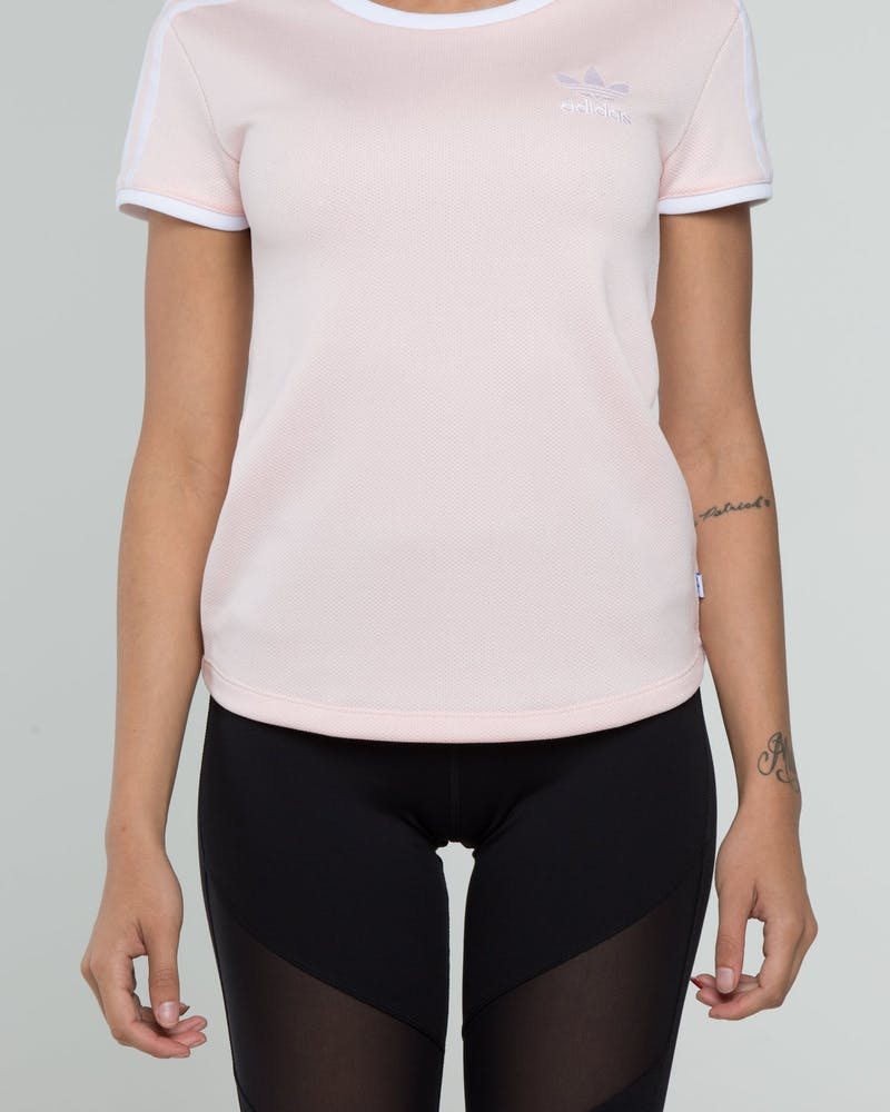 Adidas Women's Sandra 1977 Tee Light Pink