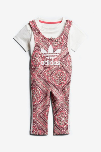 Adidas Originals Infant GRPHC Jumpsuit White/Multi-Coloured