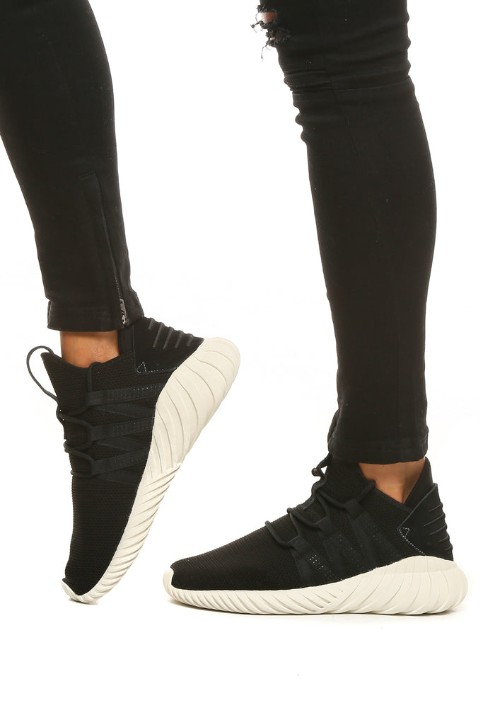 Adidas Originals Women's Tubular Dawn BlackWhite