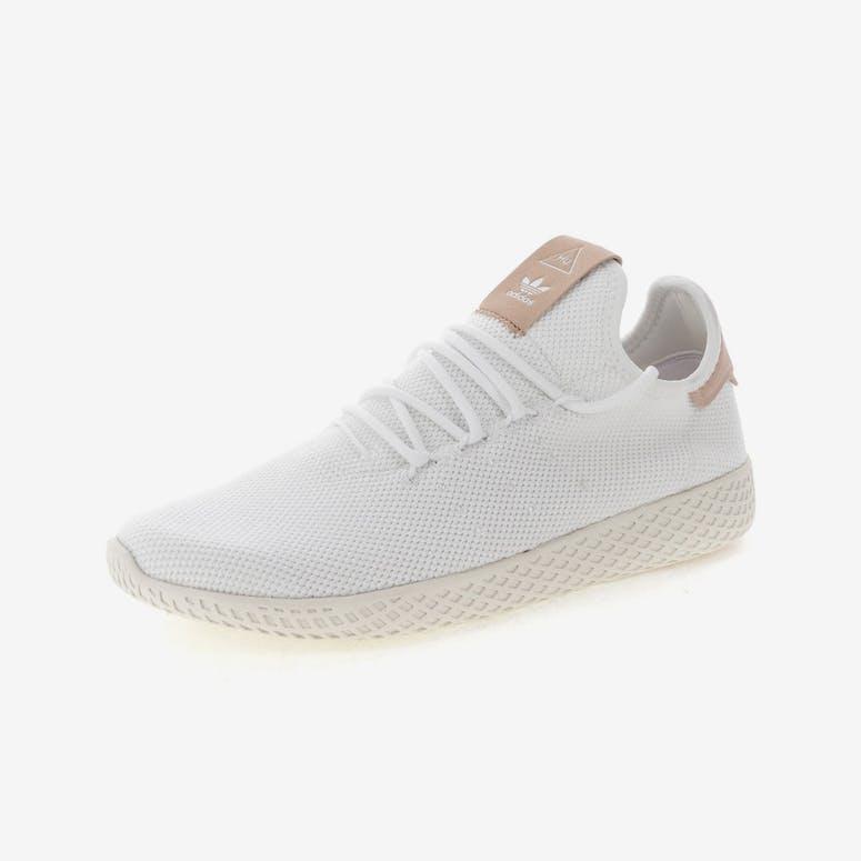 0e13cb2c28b Adidas originals Pharrell Williams Tennis HU Shoe White Cream ...