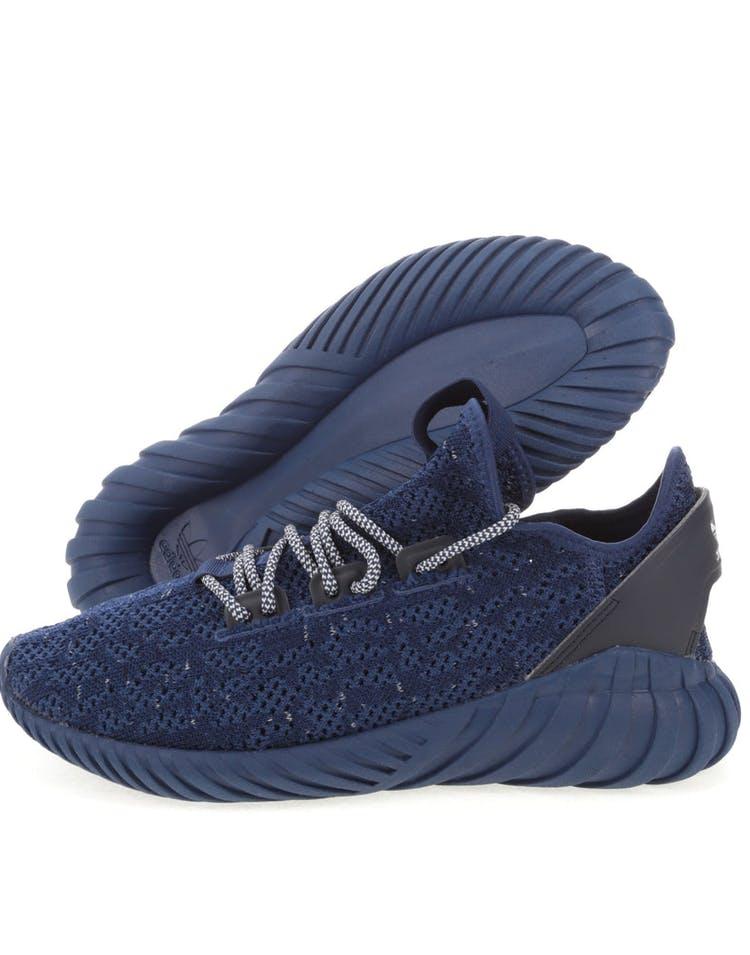 separation shoes a05b7 b17de Adidas Originals Tubular Doom Sock Primeknit Navy/White