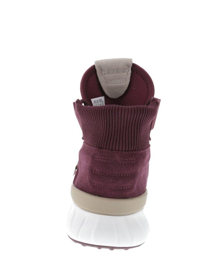 online store 498d1 10f06 Adidas Originals Tubular X 2.0 Primeknit Maroon/White