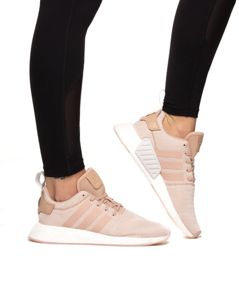 Adidas Originals Women S Nmd R2 Pink White Culture Kings Us