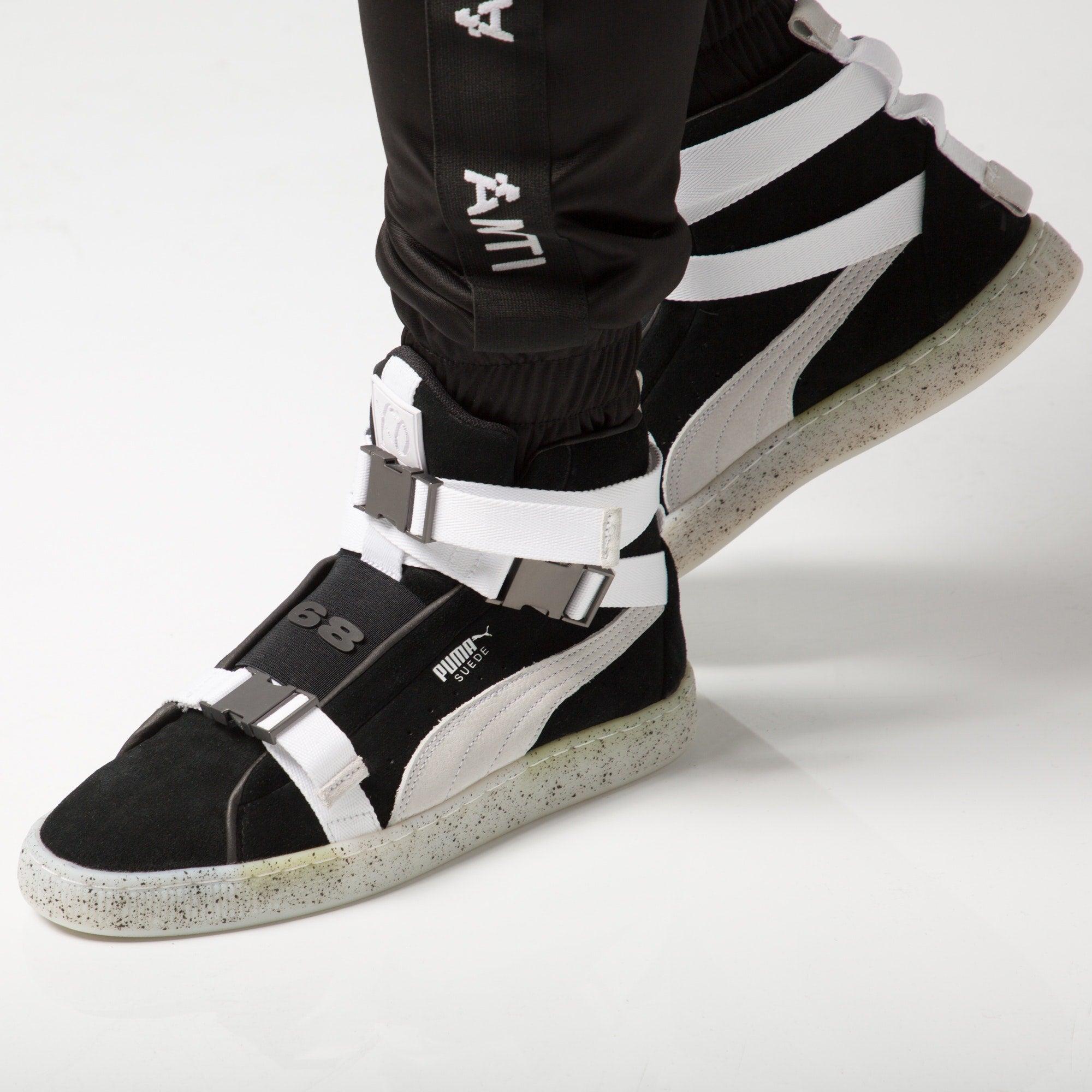 Puma Suede X The Weeknd Black/White