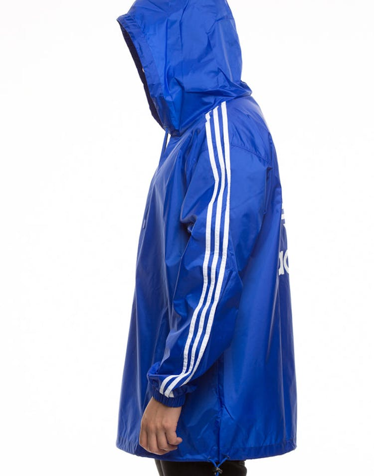 Adidas Originals Poncho Windbreaker Blue/White