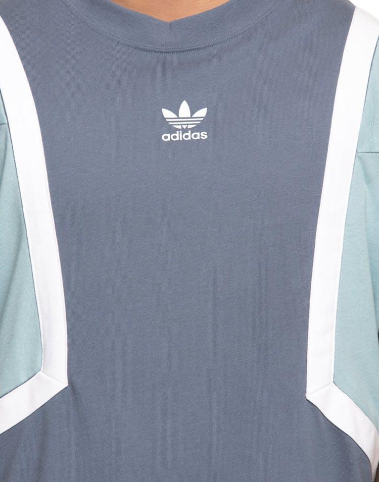 b3ddde0f Adidas Originals Nova Tee Blue – Culture Kings US