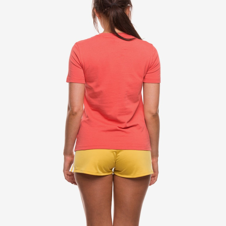 ADIDAS WOMEN'S TREFOIL TEE CORAL
