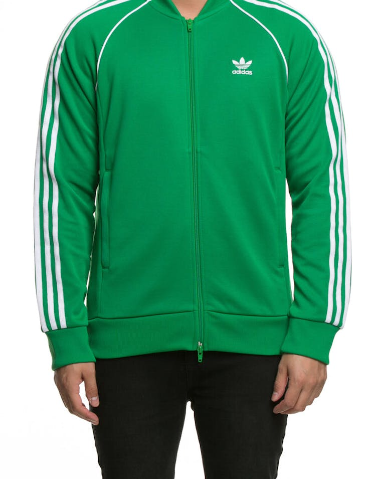 pañuelo Optimismo Días laborables  Adidas SST Track Top Green – Culture Kings US