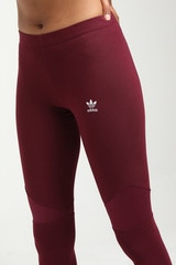 ADIDAS WOMEN'S CLRDO TIGHTS MAROON