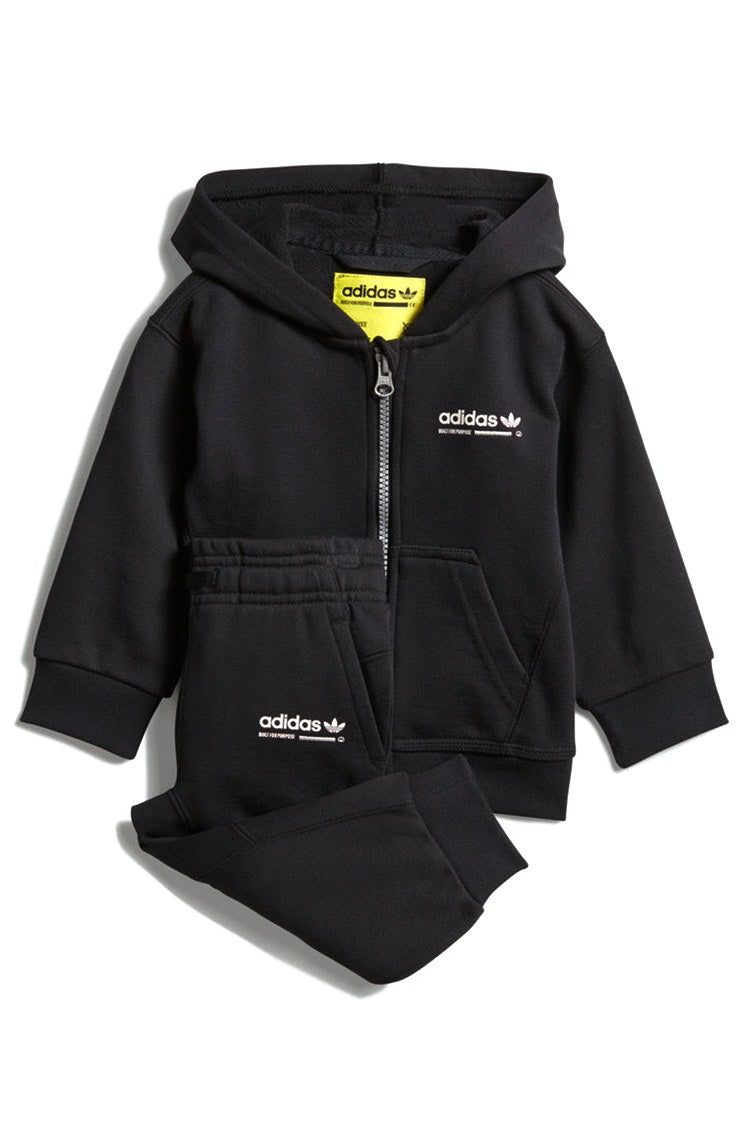 Adidas Infant Kaval Hoodie Set Black