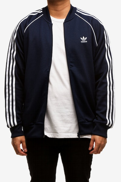 Adidas SST Track Top Navy