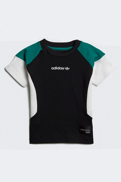 Adidas Infant EQT Tee Black/White/Grey