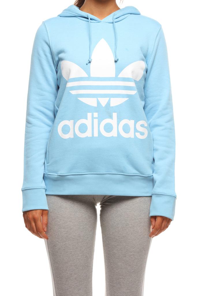 baby blue adidas hoodie