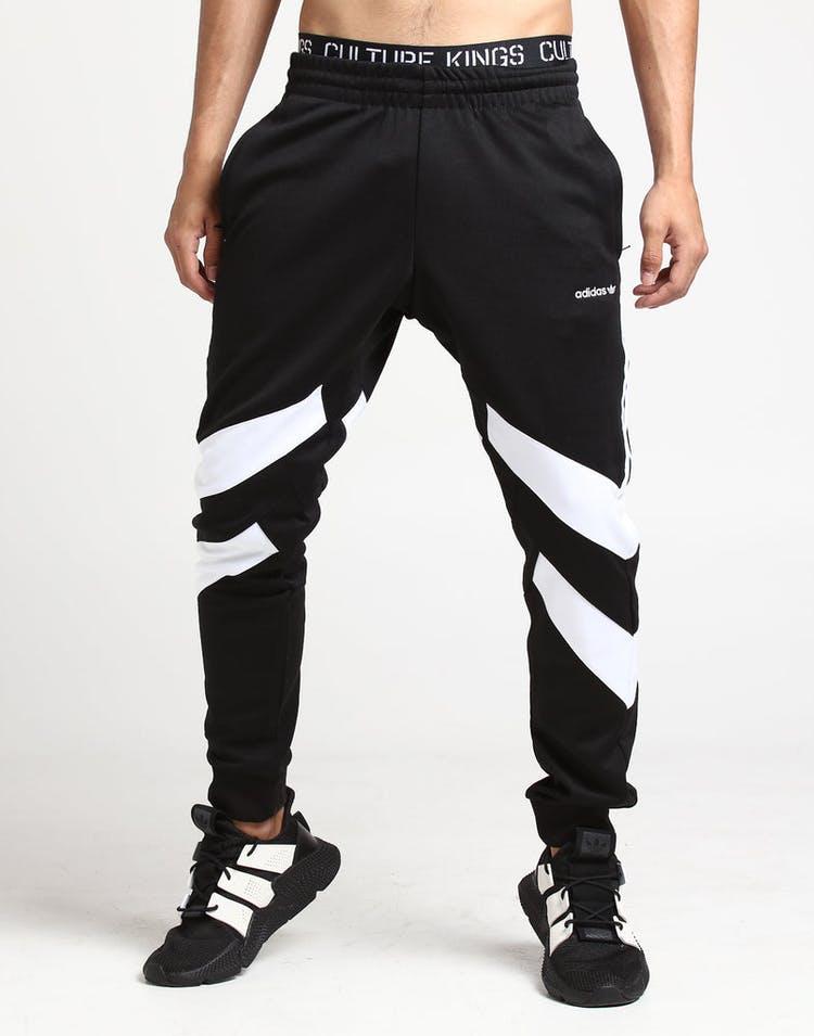 128fcbfb Adidas Palmeston Track Pant Black/White – Culture Kings US