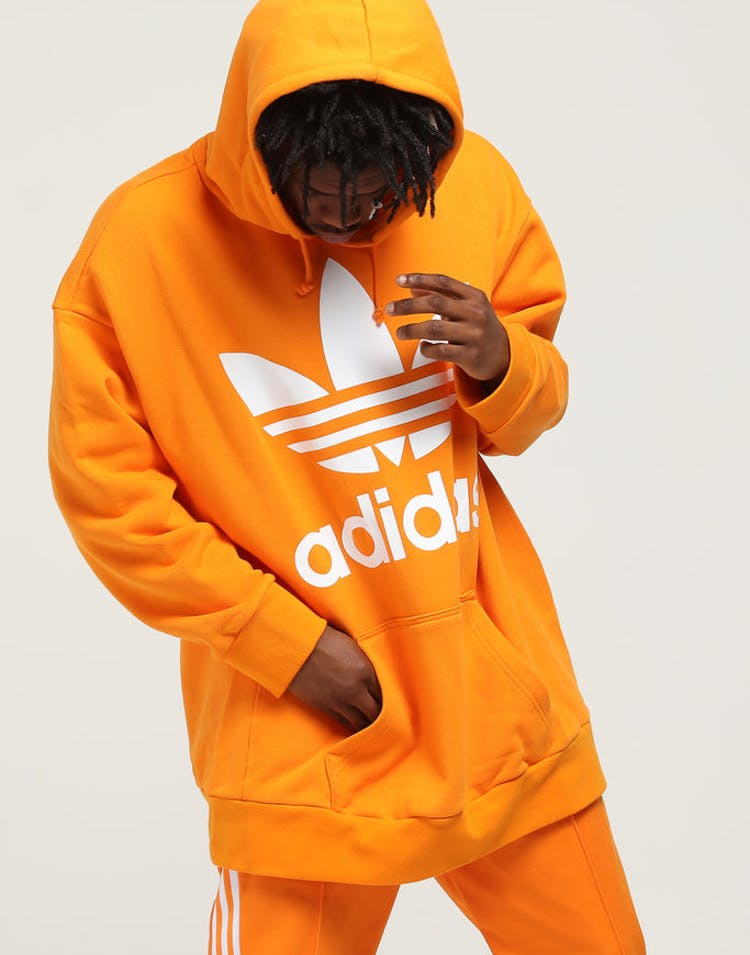 69ed671b6a Adidas Tref Over Hood Orange