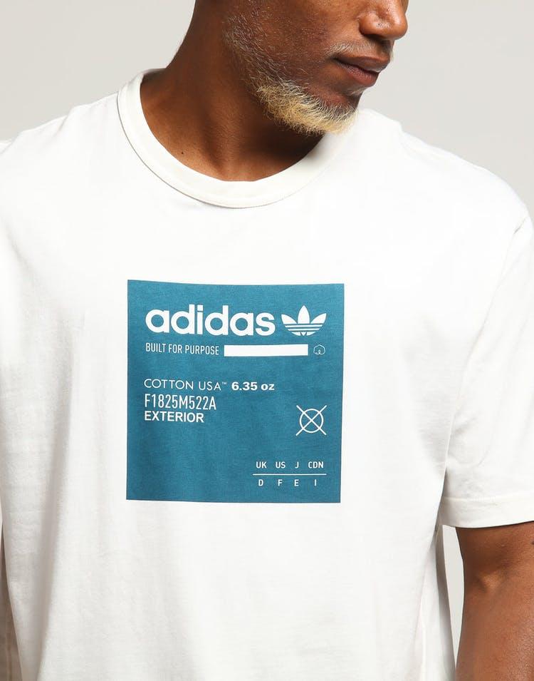 86bd826370 Adidas Kaval GRP Tee W White/Teal