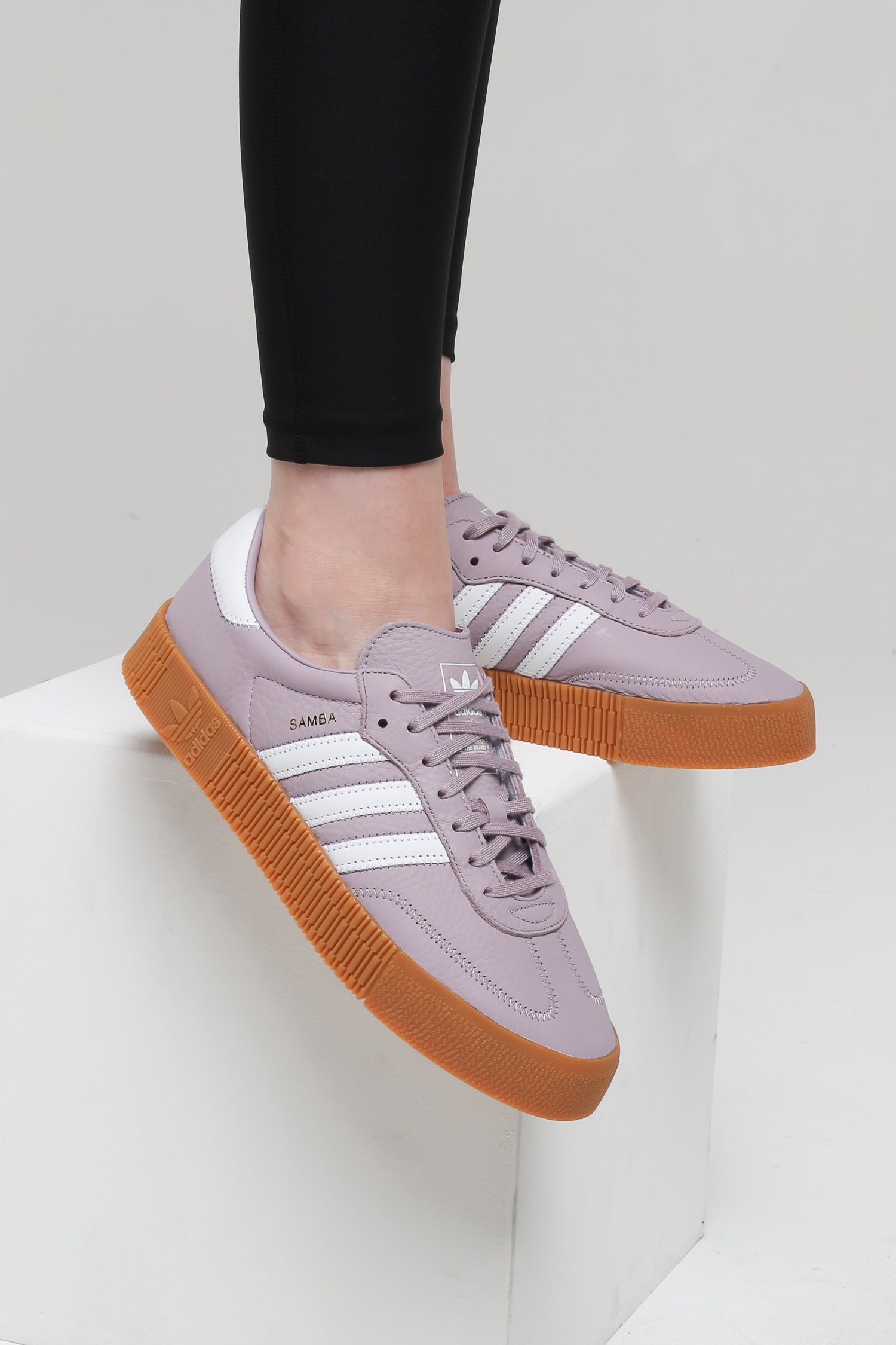 Details about adidas ORIGINALS WOMEN'S SAMBA ROSE SHOES PURPLE TRAINERS SNEAKERS LILAC RETRO