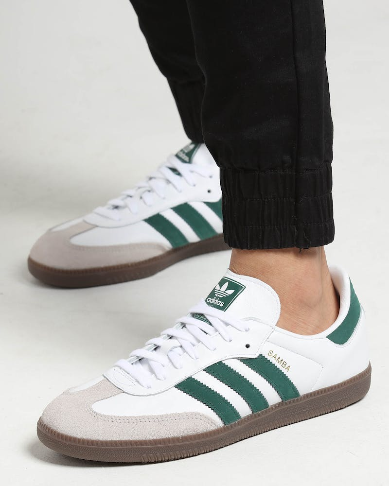 Contribuyente Tía popurrí  Adidas Samba OG White/Green | Culture Kings US
