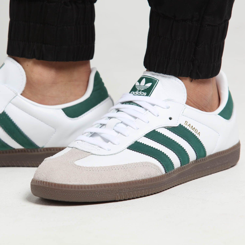 Adidas Samba OG White/Green   Culture