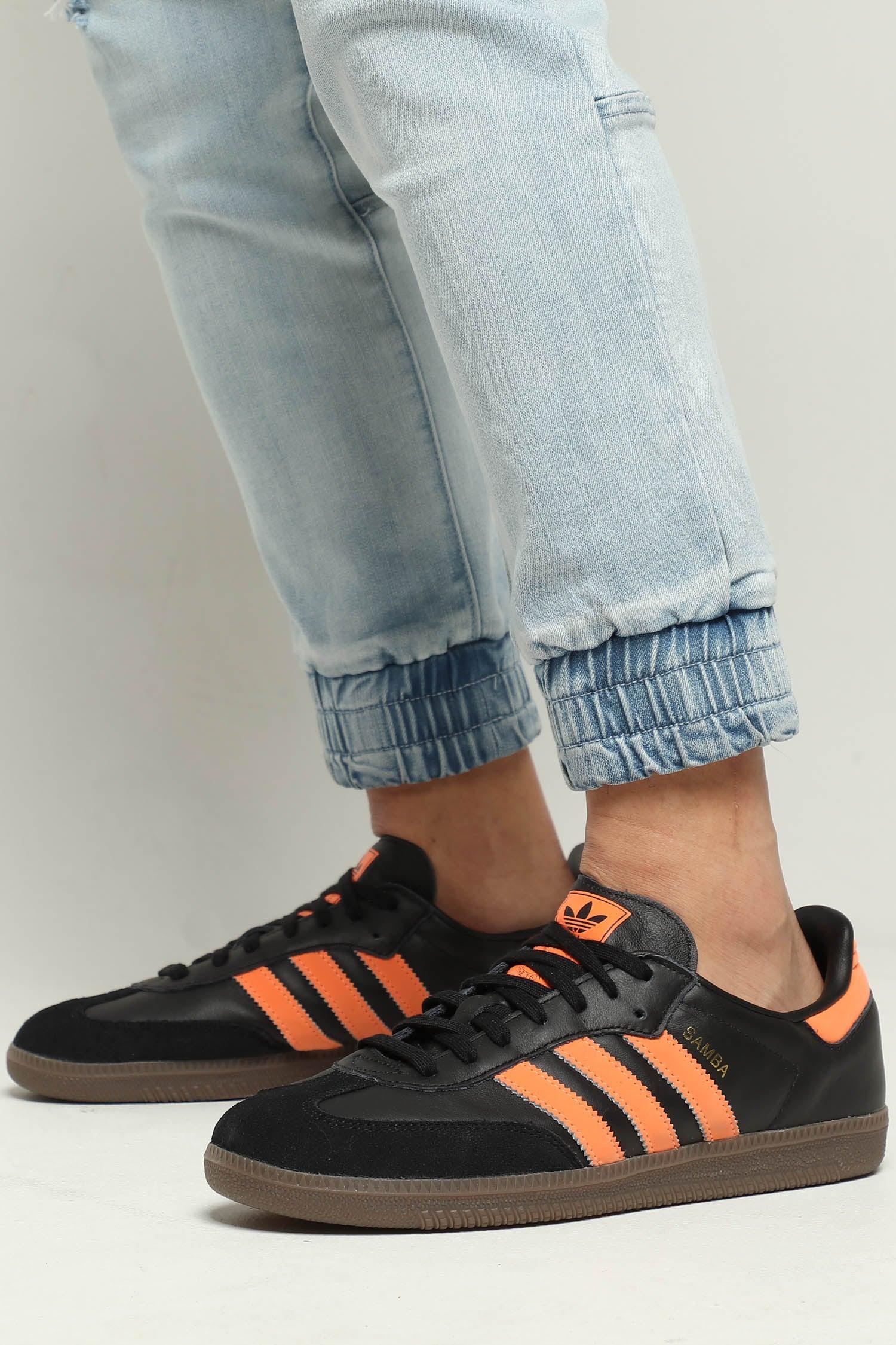 Adidas Samba OG Black/Orange | Culture