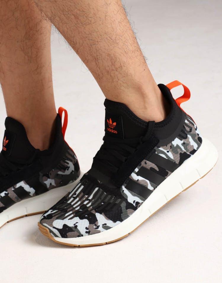 ee4b0eb083612 Adidas Swift Run Barrier Cargo Black Orange – Culture Kings US