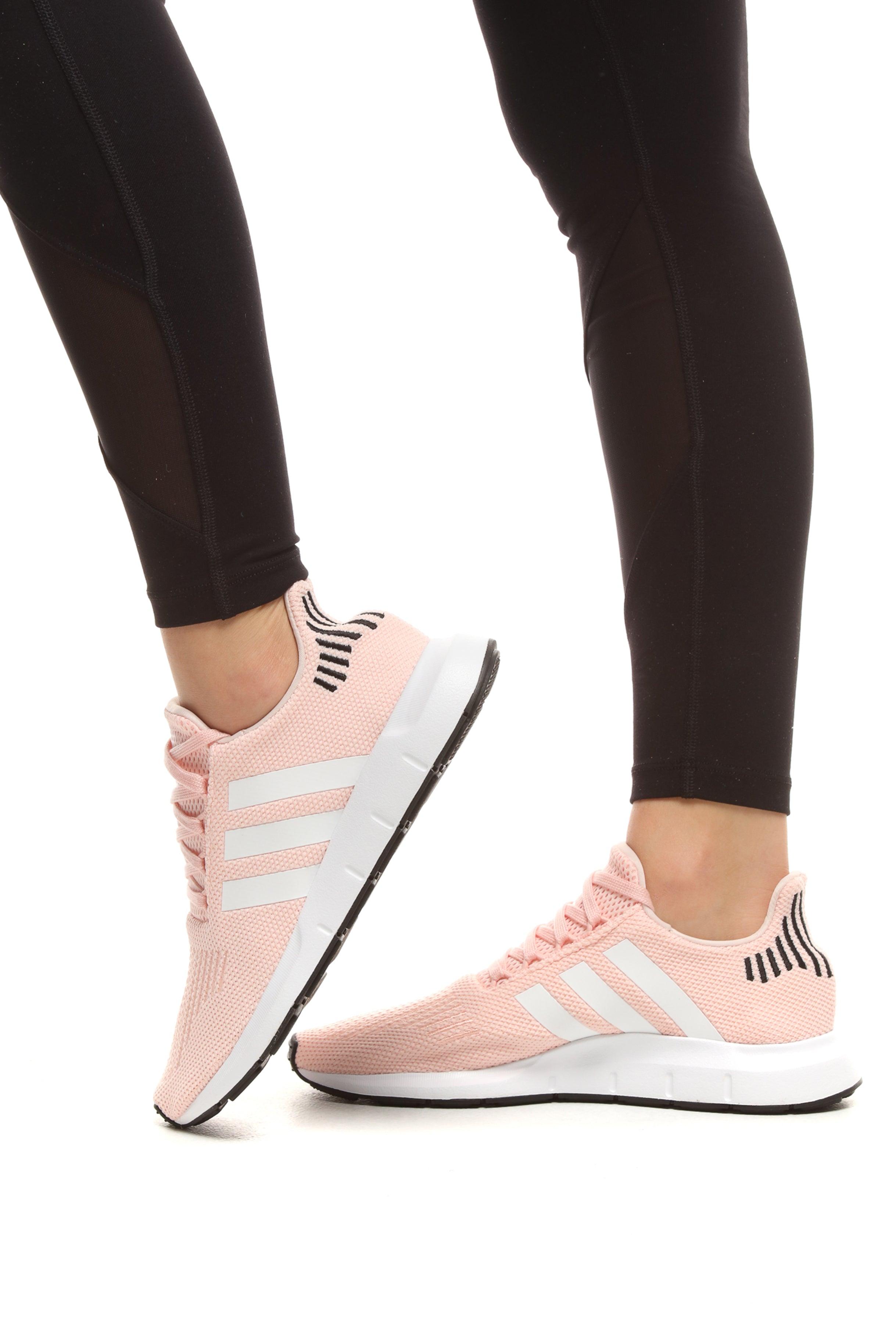 womens pink adidas swift run