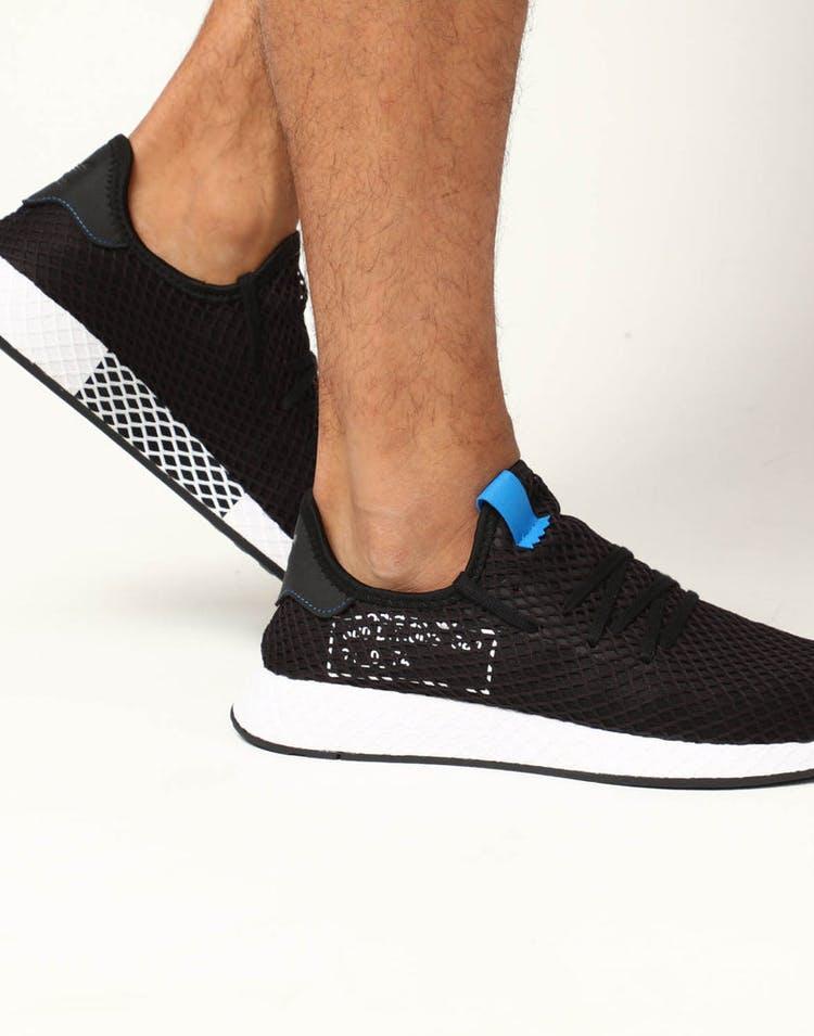 c82c15eaf Adidas Deerupt Black Blue – Culture Kings US