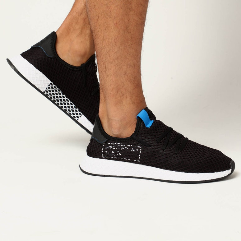new product 92d87 53744 Adidas Deerupt BlackBlue