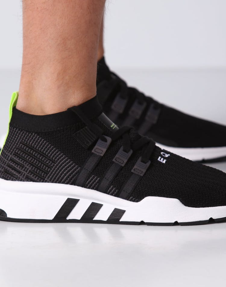 the latest 49d6f 60e64 Adidas EQT Support Mid ADV Primeknit Black/White