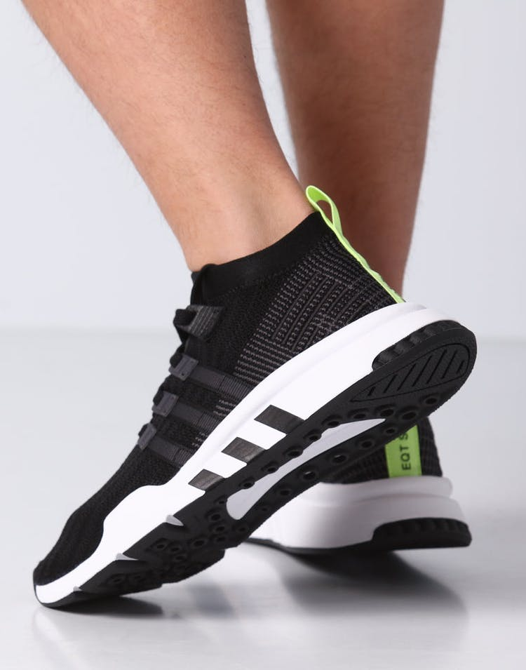 the latest aa289 2bc73 Adidas EQT Support Mid ADV Primeknit Black/White