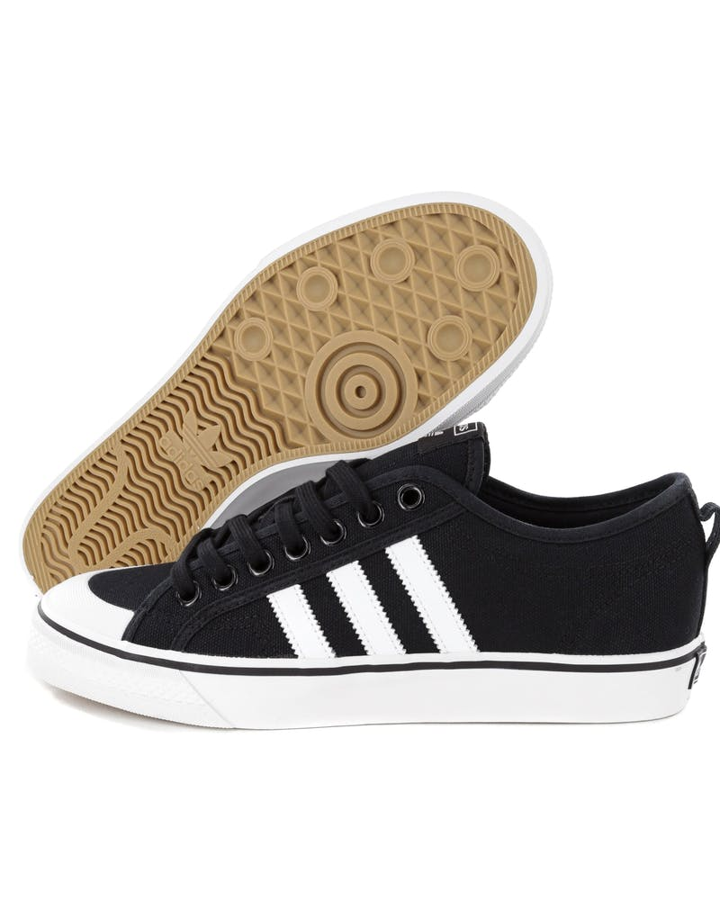 Adidas Nizza Black/White
