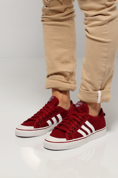 Adidas Nizza Burgundy/White